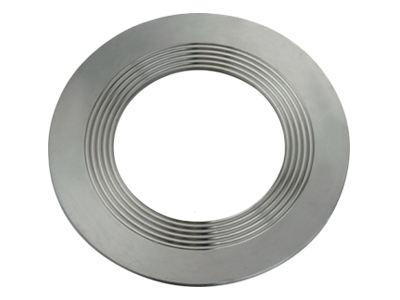 Metal winding gasket installation method