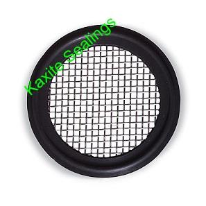 EPDM Tri-Clamp Screen Sanitary Gasket