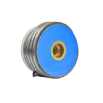 Inconel wire reinforced flexible graphite braided packing