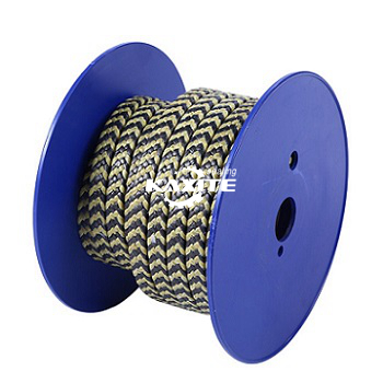 Graphite PTFE and Aramid Fiber in Zebra Braided Packing